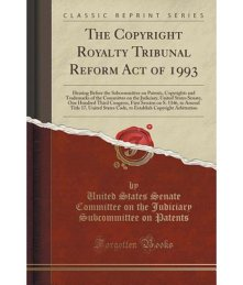 Copyright Royalty Tribunal Notices and Proceedings Archive 1980 - 1993