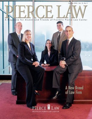 UNH Law Alumni Magazines Index - IP Accomplishments Focus - Summer 2006