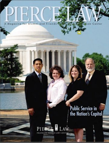UNH Law Alumni Magazines Index - IP Accomplishments Focus - Summer 2007