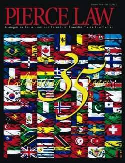 UNH Law Alumni Magazines Index - IP Accomplishments Focus - Summer 2008