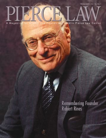 UNH Law Alumni Magazines Index - IP Accomplishments Focus - Winter 2010