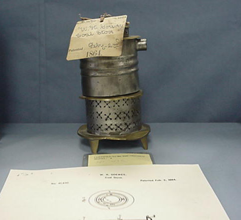 User Guide Series: Homer and Jean Blair Collection of United States Patent Models Coal Stove